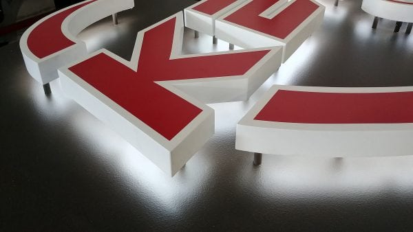 HALO Reverse Channel Letters